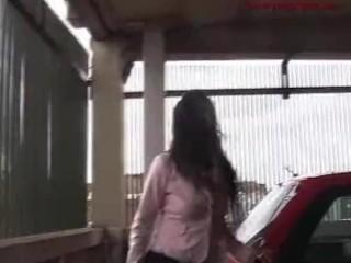 Desperate Bladder Explosion in Parking Garage