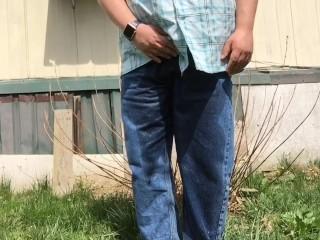 Springtime Pee in my Jeans