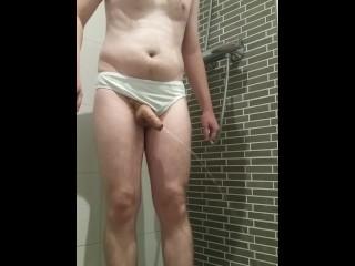 Peeing while wearing panties