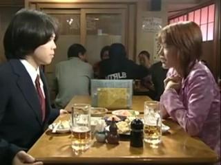 Japanese Teacher with schoolboy