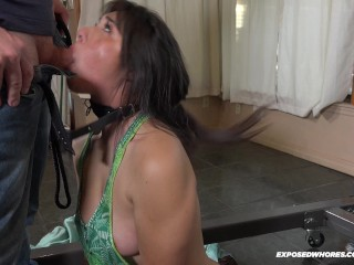 Teen Super Star Brooklyn Gray Gets Pissed On In First BDSM Scene Ever
