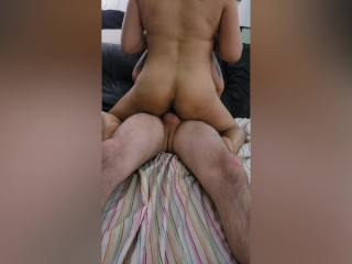 PNP homemade 3some: Bf shares gf w/best friend & he just cant get enough!!