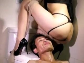 Chinese piss femdom
