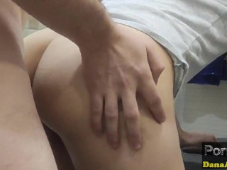 MY STEPSISTER CAN`T HOLD IT AND PEES ON ME IN THE TOILET!SHE GET A CREAMPIE