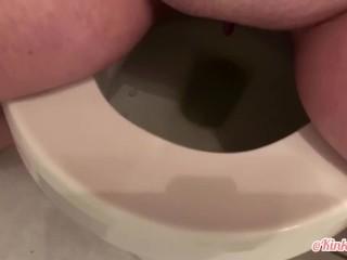 Toilet pee break ! (Desperation)