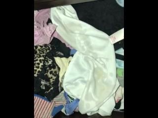 Peeing on sisters panties
