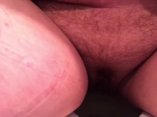 BBW peeing after holding it all morning