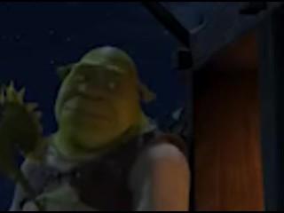 SHREK SHOWS HIS HOT OGRE ASS