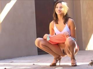 Beautiful Roxanna Perfect Slender Athletic Body