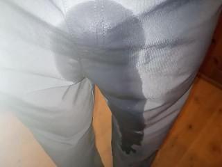 Slow wetting in long pants