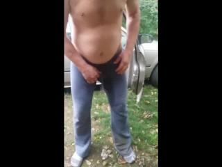 Direwolf pee desperation and pants wetting