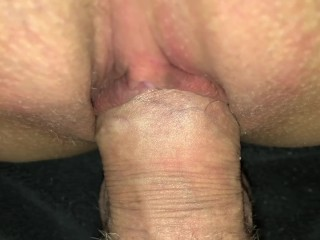 POV Wife and husband pissing during sex peeing inside pussy homemade